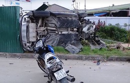Liên tiếp xảy ra các vụ tai nạn giao thông liên hoàn