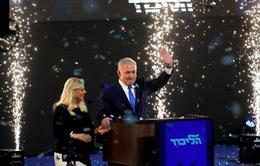 Truyền hình Israel: Thủ tướng Netanyahu chiến thắng cuộc tổng tuyển cử