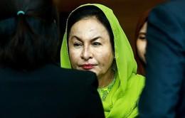 Vợ cựu Thủ tướng Malaysia Najib bị buộc tội nhận hối lộ