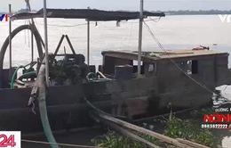 Bến thủy nội địa trở thành nơi tập kết cát lậu
