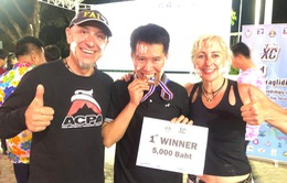 Phi công dù lượn Việt Nam vô địch Giải Dù lượn tại Thái Lan