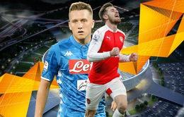 Lịch trực tiếp bóng đá Europa League rạng sáng mai (12/4): Arsenal đại chiến Napoli