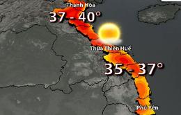Nắng nóng diện rộng, vùng núi Trung Bộ lên tới 39 độ C