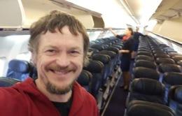 Chuyến bay đặc biệt chỉ có... một hành khách