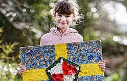 Cô bé 9 tuổi quyên góp 5,8 tỷ VND cho bệnh viện