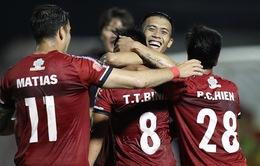 B.Bình Dương 2-3 CLB TP Hồ Chí Minh: Cuộc rượt đuổi tỉ số kịch tính!