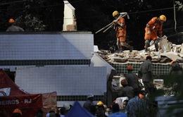 Gần 30 người thương vong trong vụ sập chung cư tại Brazil