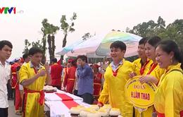 Sôi nổi hội thi gói, nấu bánh chưng và giã bánh giầy tại Lễ hội Đền Hùng