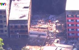 Sập nhà ở Brazil, ít nhất 5 người thiệt mạng