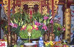 Công việc thủ từ tại Khu di tích lịch sử Đền Hùng