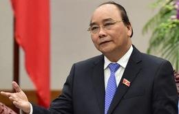 Thủ tướng Nguyễn Xuân Phúc chúc Tết Thủ tướng Lào, Campuchia