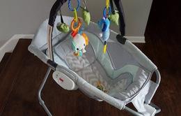 Hãng Fisher-Price thu hồi gần 5 triệu sản phẩm nôi rung cho trẻ sơ sinh