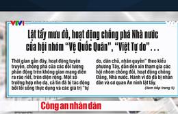 """Vạch trần bản chất phản động của nhóm """"Vệ Quốc Quân"""", """"Việt tự do"""""""