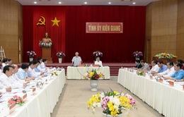 Tổng Bí thư, Chủ tịch nước Nguyễn Phú Trọng thăm và làm việc tại tỉnh Kiên Giang
