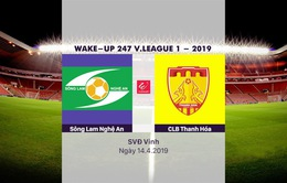 VIDEO HIGHLIGHTS: SLNA 1-0 CLB Thanh Hóa (Vòng 5 V.League Wake Up 247 - 2019)
