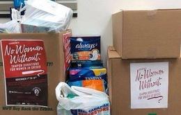 Chiến dịch quyên góp băng vệ sinh cho người vô gia cư tại bang California, Mỹ