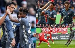 Thắng tưng bừng trên sân khách, Bayern Munich đòi lại ngôi đầu từ tay Dortmund