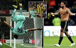 VIDEO Watford 0-1 Arsenal: Chiến thắng đầy may mắn!
