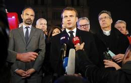 Tổng thống Pháp Emmanuel Macron: Chúng tôi sẽ xây dựng lại Nhà thờ Đức Bà Paris