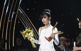 Giải Âm nhạc Cống hiến 2019: Đông Nhi bật khóc nhận giải Ca sĩ của năm
