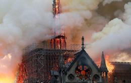 Hay tin Nhà thờ Đức Bà cháy, sao PSG tiếc hùi hụi