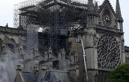 Pháp cam kết xây dựng lại Nhà thờ Đức Bà Paris trong 5 năm