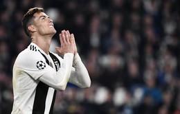 Ronaldo lần đầu vắng mặt ở bán kết Champions League kể từ năm 2010