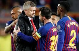 Man Utd thua toàn tập, HLV Solskjaer đặt cửa Barcelona vô địch Champions League