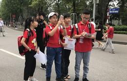 Học sinh phát huy vai trò tổ chức tại giải chạy Apax Happy Run