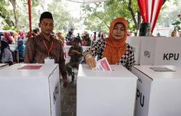 Bầu cử Indonesia: Hoạt động bỏ phiếu diễn ra an toàn trật tự