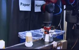Robot phân loại rác tái chế