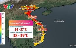 Hôm nay (19/4), Bắc Bộ và Trung Bộ tiếp tục nắng nóng, có thể cao trên 40 độ C