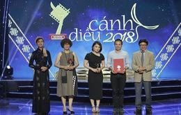 VTV giành chiến thắng rực rỡ tại lễ trao giải Cánh diều 2018