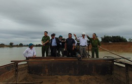Tăng cường quản lý tại điểm nóng khai thác cát trái phép Quảng Nam