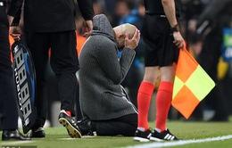 Đội bóng của Pep Guardiola bị loại khỏi Champions League vì… không có Messi