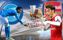 Napoli - Arsenal: Nỗi lo sân khách! (02h00 ngày 19/4)