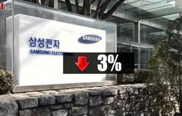 Cổ phiếu Samsung sụt giảm mạnh