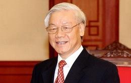 TBT, CTN Nguyễn Phú Trọng gửi điện mừng lãnh đạo mới Nhà nước Triều Tiên