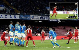 Napoli 0-1 Arsenal: Lacazette lập công, Pháo thủ giành quyền vào bán kết Europa League
