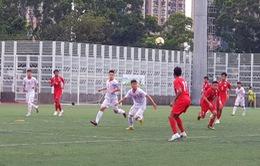 Thắng tối thiểu U18 Singapore, U18 Việt Nam giành trọn 3 điểm trong trận ra quân tại Giải U18 Quốc tế 2019