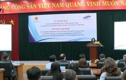 Bộ Công Thương và Samsung phối hợp đào tạo chuyên gia công nghiệp hỗ trợ