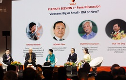 NTK Đỗ Trịnh Hoài Nam dự diễn đàn Người Việt có tầm ảnh hưởng tổ chức tại Paris