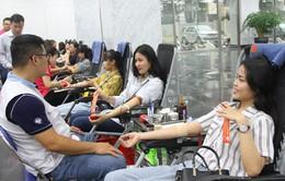 Cán bộ, viên chức và người lao động VTV tham gia hiến máu nhân đạo