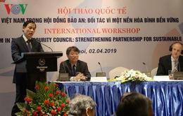 Việt Nam tham gia Hội đồng Bảo an: Đối tác vì một nền hoà bình bền vững