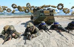 Mỹ không giảm quy mô tập trận với Hàn Quốc