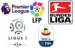 CẬP NHẬT Lịch thi đấu, kết quả, BXH các giải bóng đá VĐQG châu Âu: Ngoại hạng Anh, La Liga, Serie A, Bundesliga...