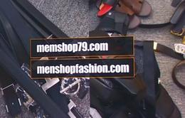 Hệ thống menshop79.com và menshopfashion.com bán hàng giả thương hiệu nổi tiếng