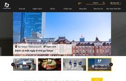 Trang thông tin du lịch của Nhật Bản có phiên bản tiếng Việt