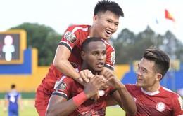 Vòng 6 Wake-up 247 V.League 1-2019 ngày 20/4: CLB Thanh Hóa 2-2 Sanna Khánh Hòa, Than Quảng Ninh 3-0 CLB Sài Gòn, CLB TP Hồ Chí Minh 2-0 CLB Viettel