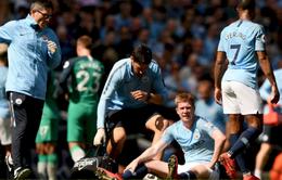 Man City trả giá đắt cho 3 điểm trước Tottenham
